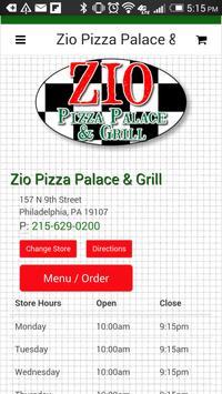 Zio Pizza Palace and Grill poster