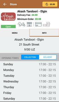 Akash Tandoori - Elgin apk screenshot