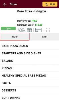 Base Pizza screenshot 1