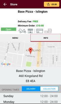 Base Pizza screenshot 2