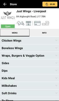 Just Wings screenshot 1