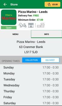 Pizza Marino - Leeds screenshot 2