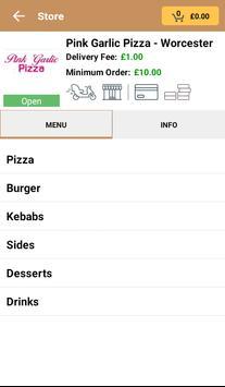Pink Garlic Pizza apk screenshot