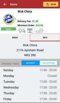 Wok China screenshot 2