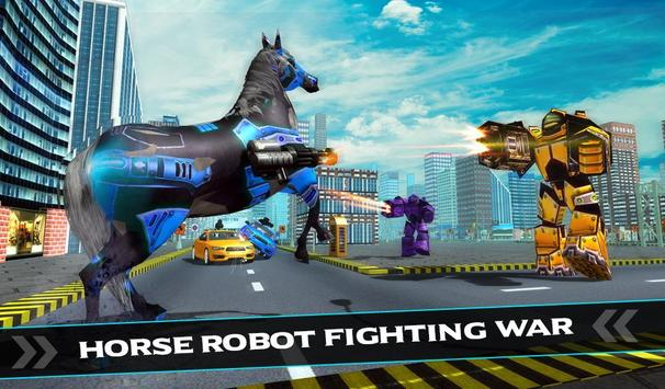 US Police Car Robot War Wild Horse Robot Transform screenshot 6