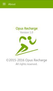 Opus Recharge apk screenshot