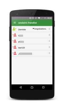 Instant Messaging by Oredein apk screenshot