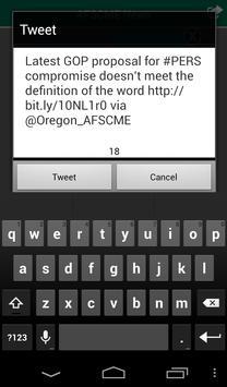 Oregon AFSCME Mobile App apk screenshot