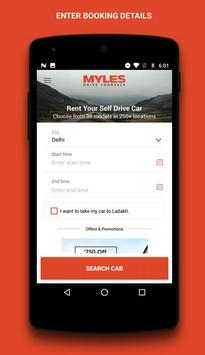 Myles - Self Drive Car Rental poster