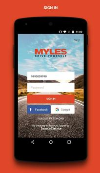 Myles - Self Drive Car Rental screenshot 3