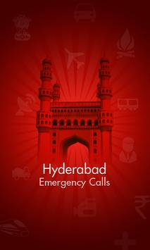 HYD Emergency Calls poster