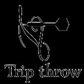 Trip throw icon