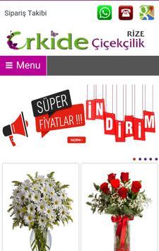 ORKiDE Çiçekçilik Rize poster