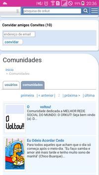 Orkutbr.com apk screenshot