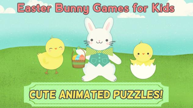 Easter Bunny Games: Puzzles poster