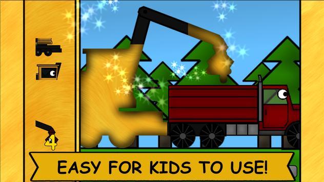 Kids Trucks: Puzzles 2 apk screenshot
