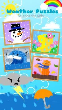 Weather Puzzles for Kids poster
