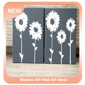 Modern DIY Wall Art Ideas icon