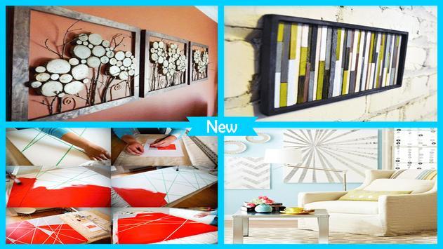 Modern DIY Wall Art Ideas apk screenshot