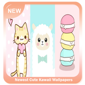 Newest Cute Kawaii Wallpapers icon