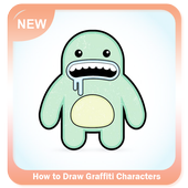 How to Draw Graffiti Characters icon