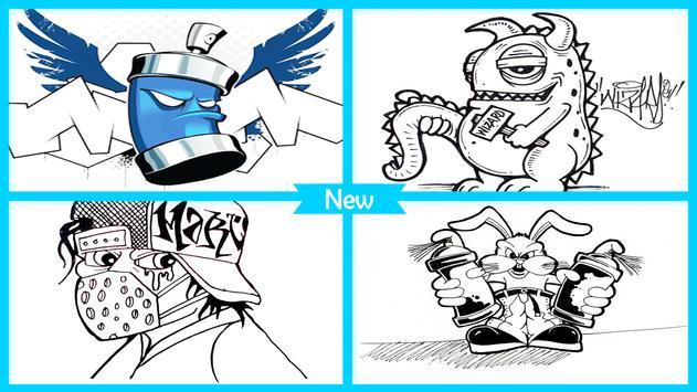 How to Draw Graffiti Characters screenshot 3