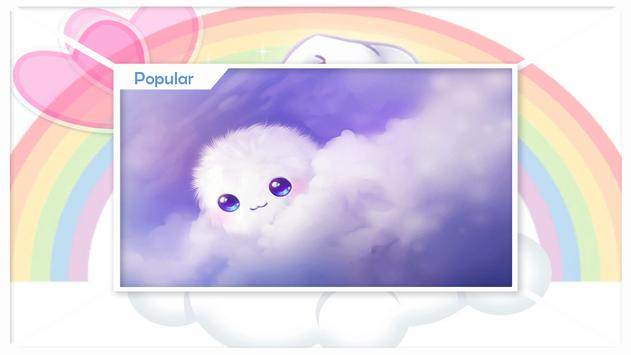 Kawaii and Cute Wallpapers apk screenshot