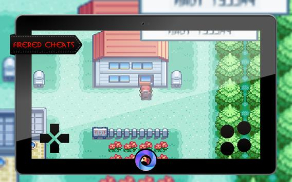Cheats for Pokemon Fire Red Version screenshot 4