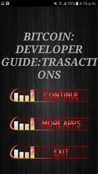 BitCoin Developer Guide: Trasactions poster