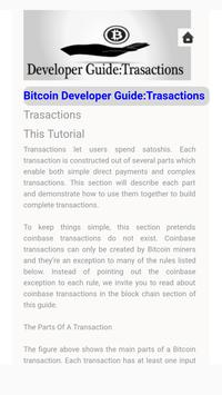 BitCoin Developer Guide: Trasactions screenshot 2