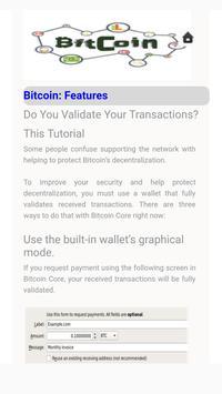 Bitcoin: Feature screenshot 2
