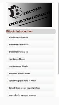 Bitcoin: Introduction apk screenshot