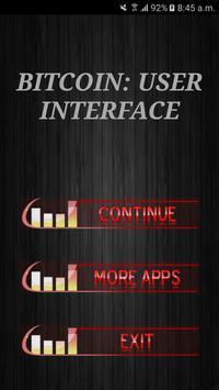Bitcoin: User Interface poster