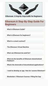 Ethereum: A Step-By-Step Guide For Beginners screenshot 1