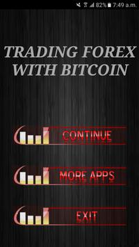 Trading Forex With Bitcoin Tutorials poster