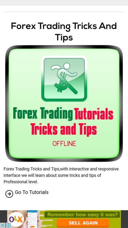 Forex Trading Tutorial Offline Screenshot 5
