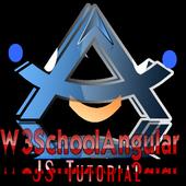 Angular JS Tutorial Of W3Schools Offline icon