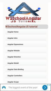 Angular JS Tutorial Of W3Schools Offline screenshot 2
