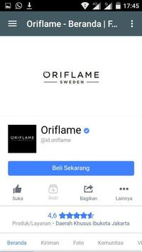 ORIFLAME SUPPORT screenshot 1