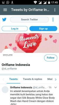 ORIFLAME SUPPORT screenshot 3