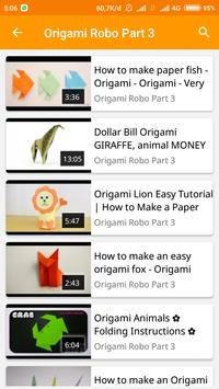 How To Make Origami Robo screenshot 4