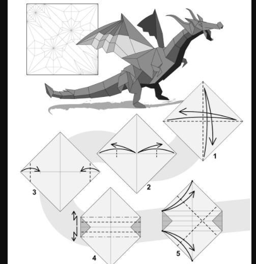 How to make an origami dragon - Quora | 520x503