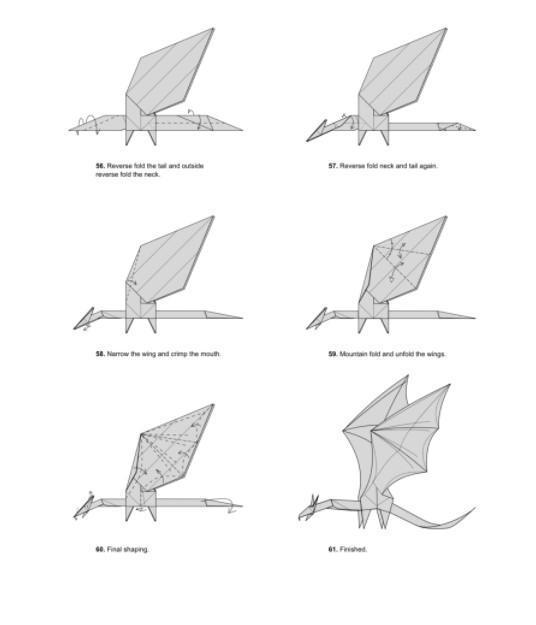 Origami Dragon (Jo Nakashima) - YouTube | 625x536