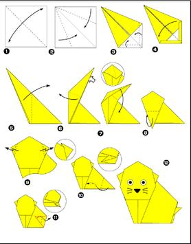 origami for children poster