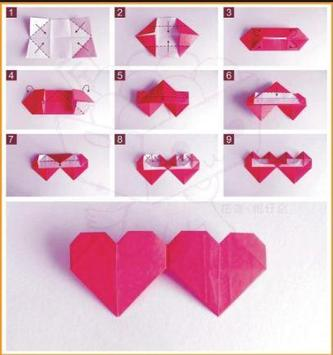 Origami Heart Tutorials poster