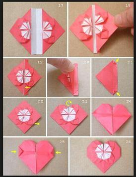 Origami Heart Tutorials screenshot 5