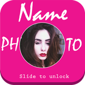 Name Photo Lock icon