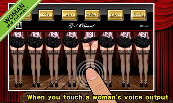 Girl Board +FX (Lite) apk screenshot