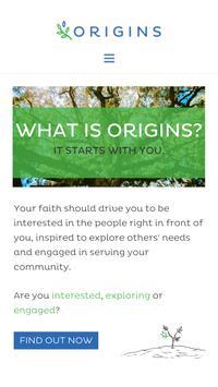 Origins Community poster