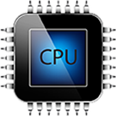 cpu x system and hardware icon